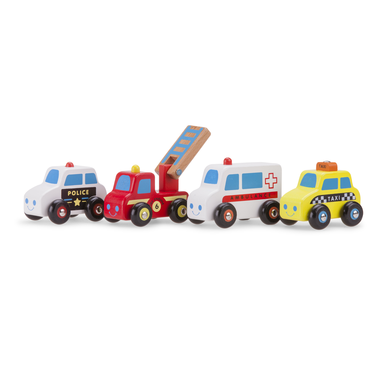 дървена играчка-градски автомобили-детски играчки за момчета(1)-bellamie