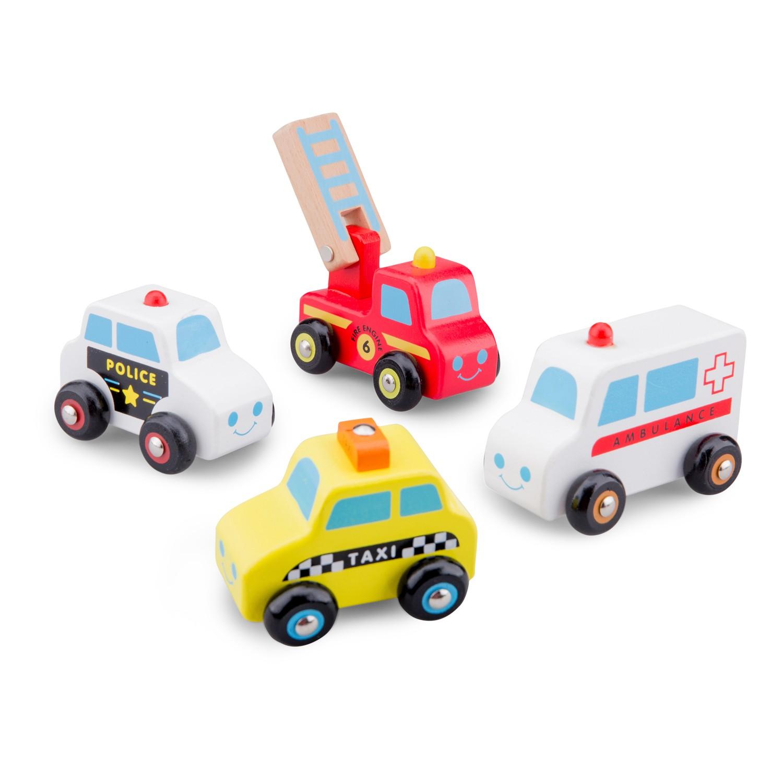 дървена играчка-градски автомобили-детски играчки за момчета-bellamie
