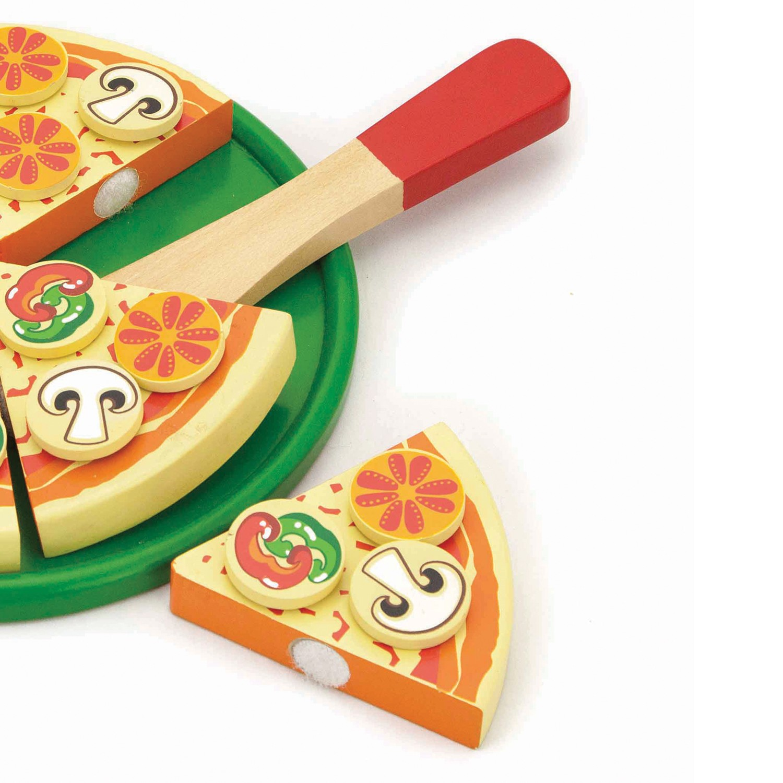 дървена пица за рязане - Италия - аксесоар за детска дървена кухня(1)-bellamie