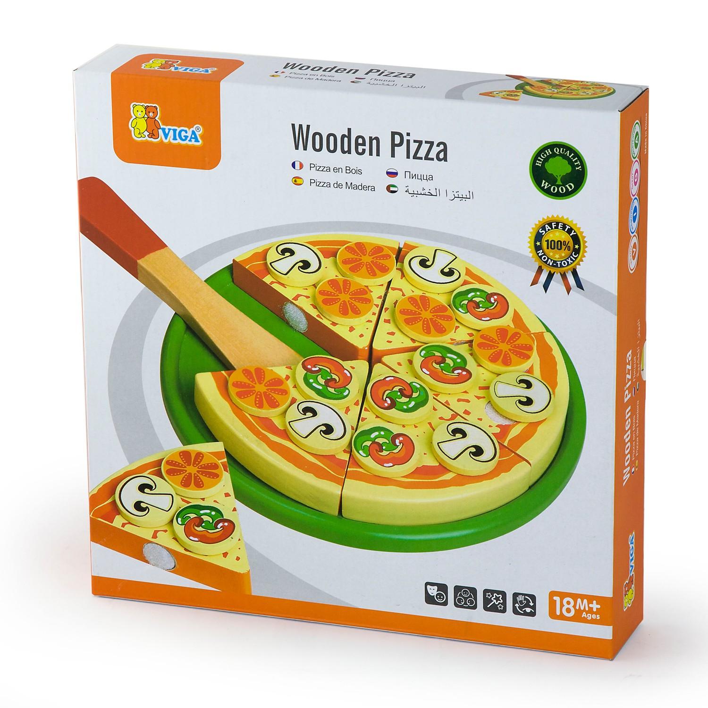 дървена пица за рязане - Италия - аксесоар за детска дървена кухня(2)-bellamie