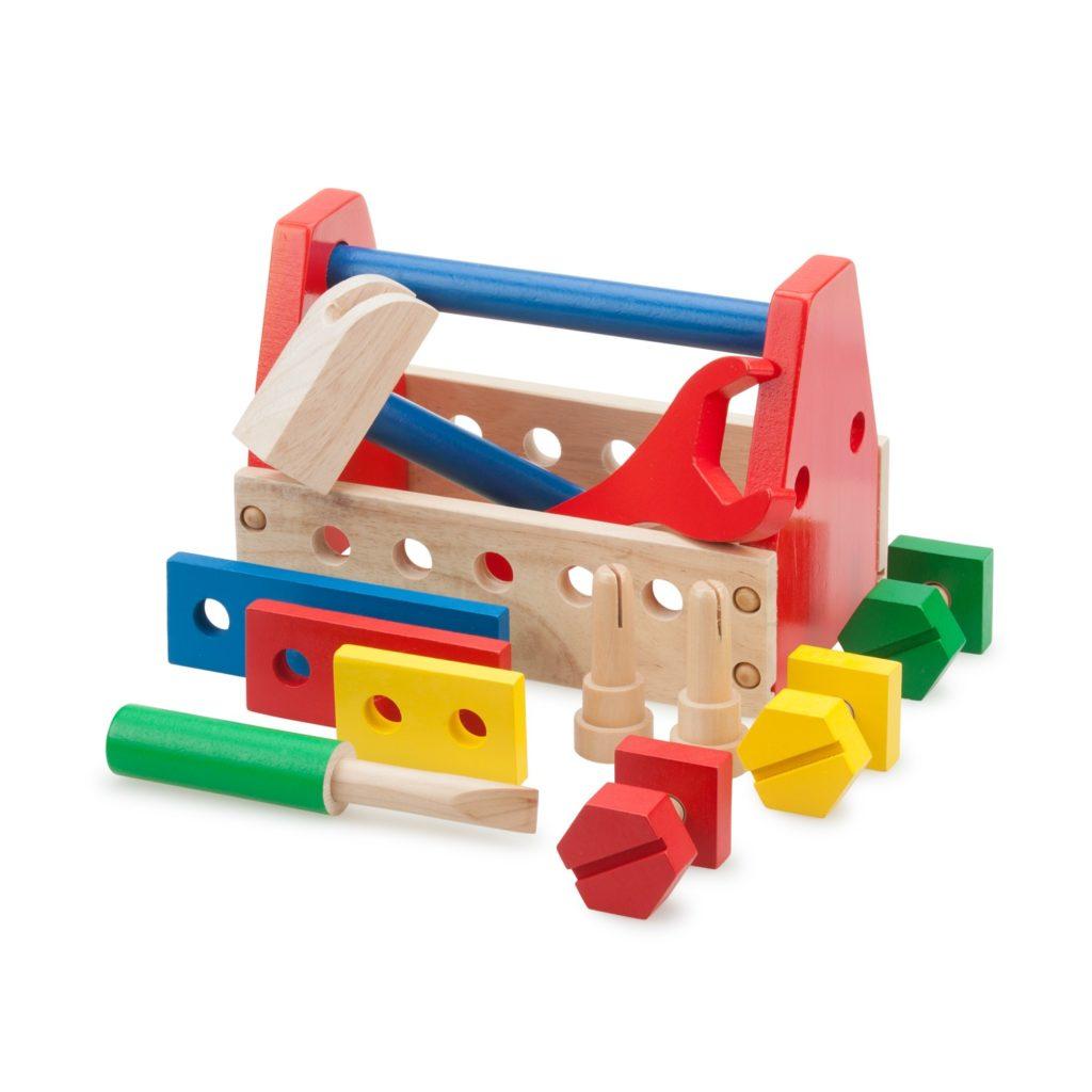 Комплект детски дървени инструменти-детски играчки за момчета-Bellamie