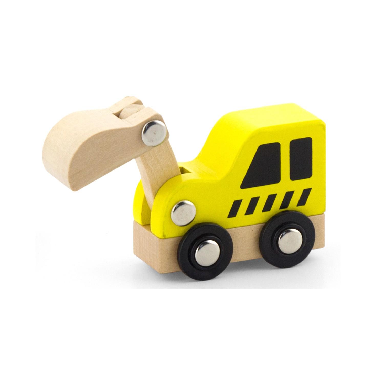 Комплект строителни машини-дървена играчка-детски играчки за момчета-Viga toys(2)-bellamie