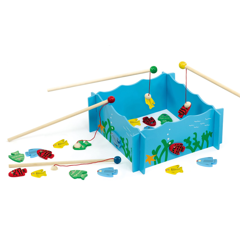 образователна игра - Готови за риболов - дървена играчка(1)-bellamie