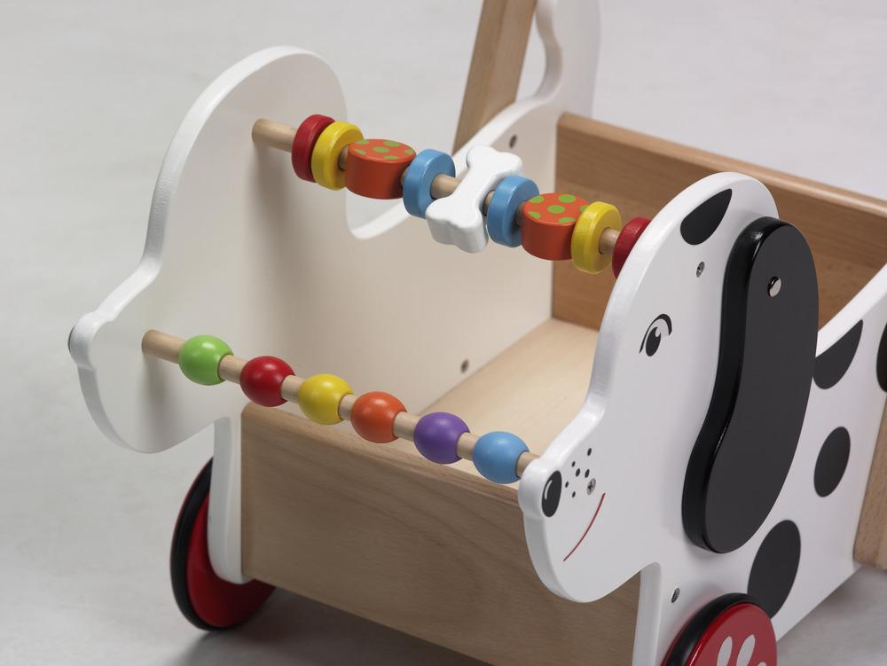 Дървена детска проходилка -кученце от Viga-Bellamie