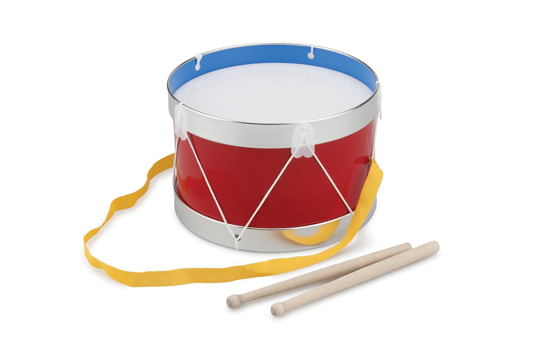 Детски музикални инструменти- червен барабан