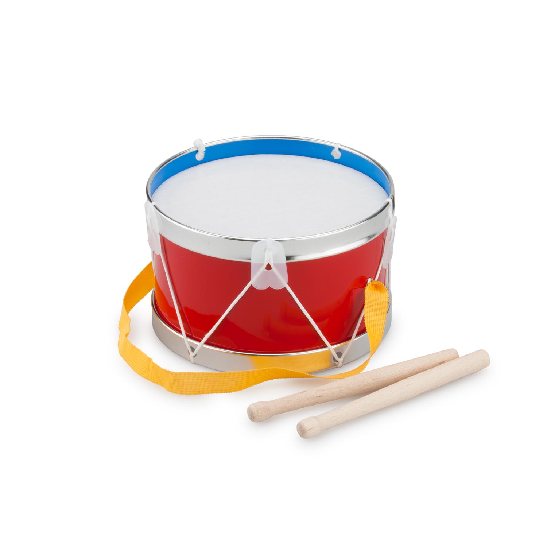 Детски музикални инструменти- червен барабан-Bellamie