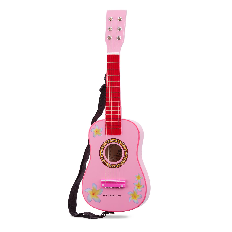 Детски музикални инструменти -розова китара-Bellamie