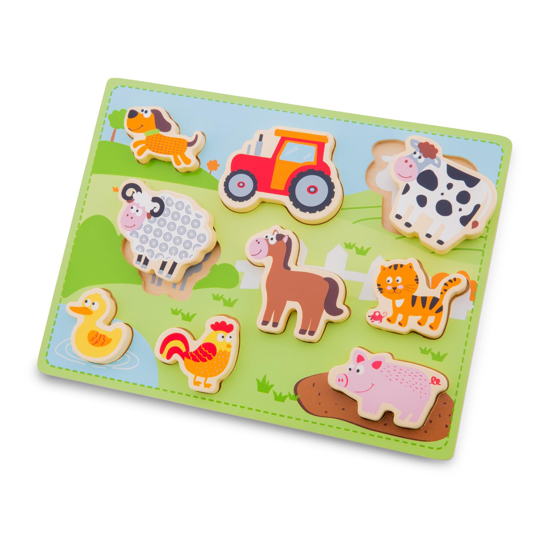Детски пъзел-Живота в Фермата-New classic toys-Bellamie