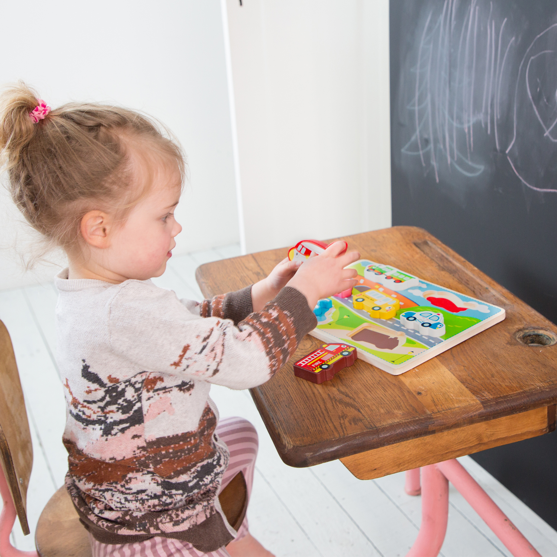 детски пъзел света на транспорта от New classic toys- дървени играчки(1)-bellamie