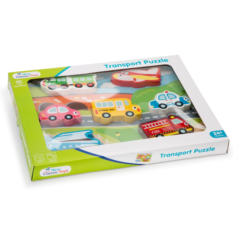 детски пъзел света на транспорта от New classic toys- дървени играчки(2)-bellamie