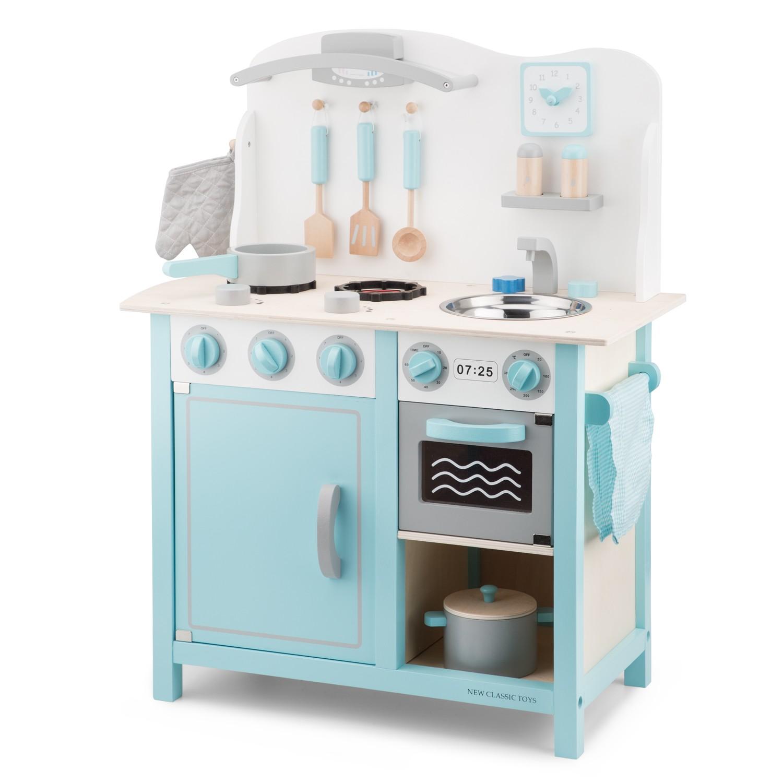 ГДетска дървена кухня в синьо-лукс-дървена играчка(3)-bellamie