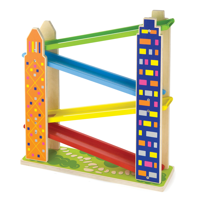 Детски играчки за момчета-дървени играчки- писта за коли-Bellamie
