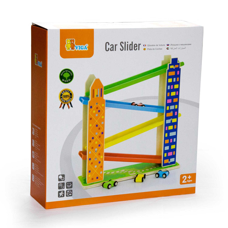 Детски играчки за момчета-дървени играчки- писта за спускане-Bellamie