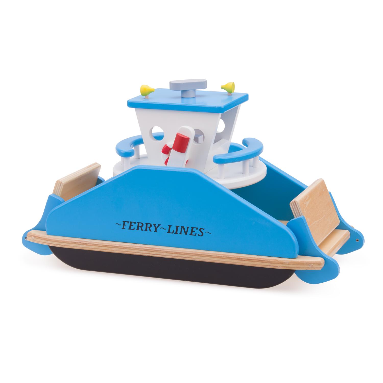 Детски играчки за момчета- дървен ферибот-bellamie