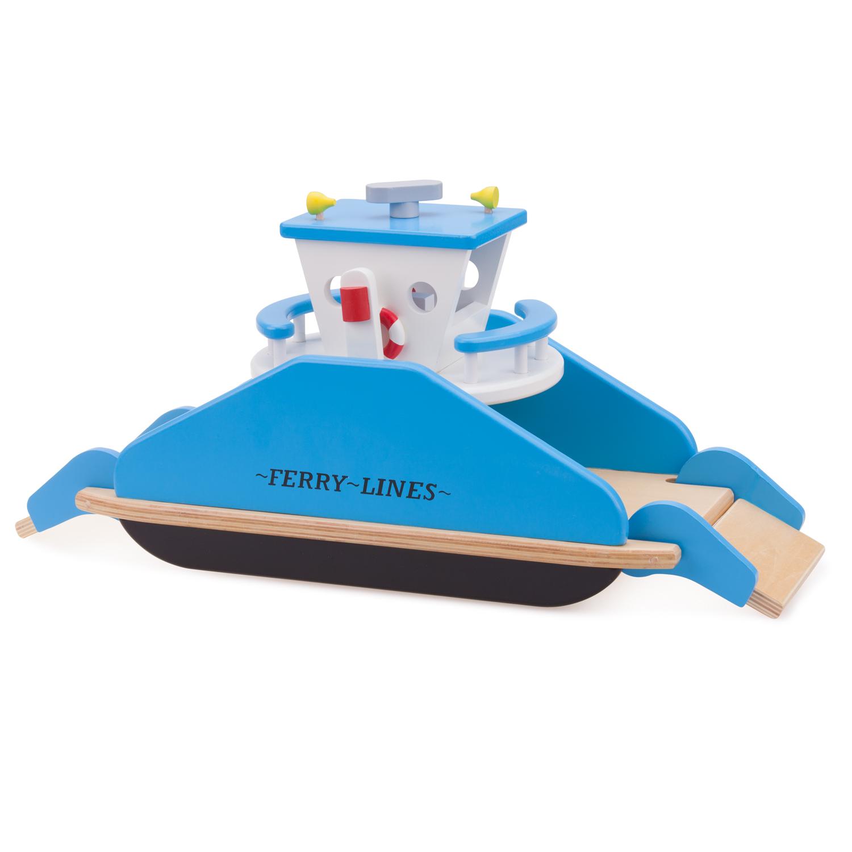Детски играчки за момчета- дървен ферибот(1)-bellamie