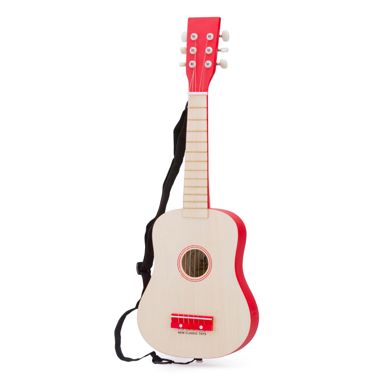Детски музикални инструменти - детска червена китара-Bellamie