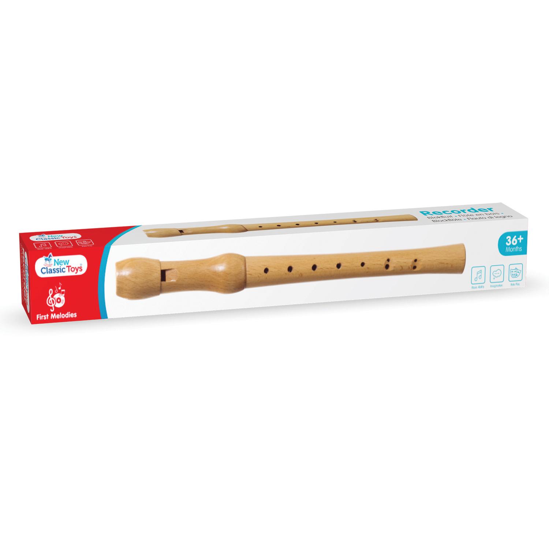 Детски музикален инструмент – Флейта отNew Classic Toys