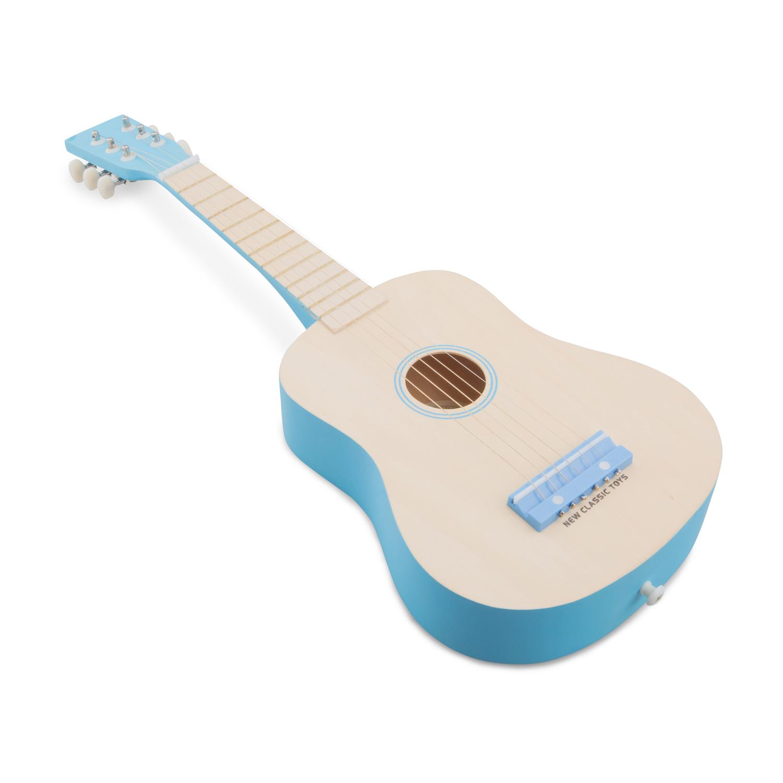 Детски музикални инструменти - синя класическа китара-Беллами