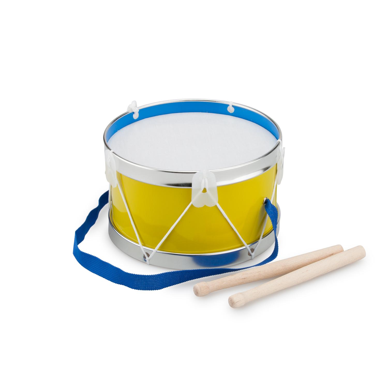 Детски музикални инструменти - жълт барабан-Bellamie