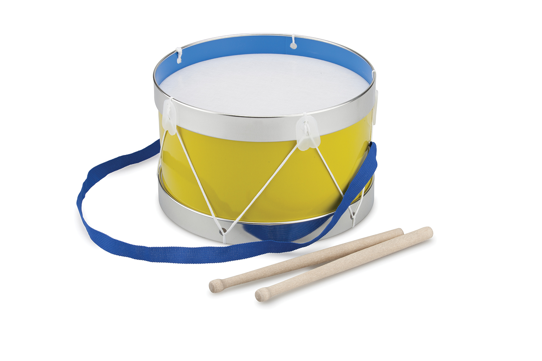 Детски музикални инструменти – жълт барабан