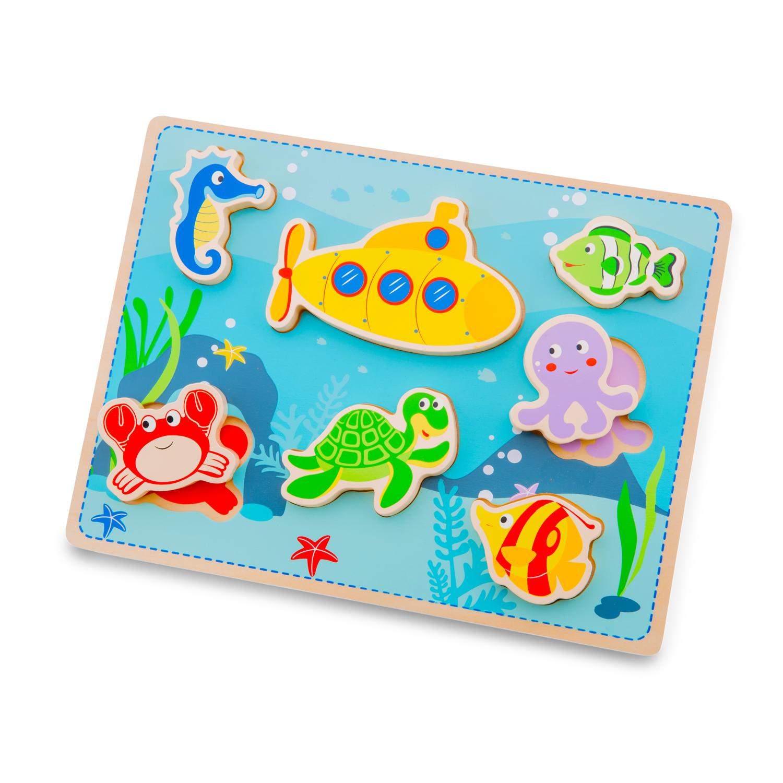 Детски пъзел-Морско дъно-New classic toys