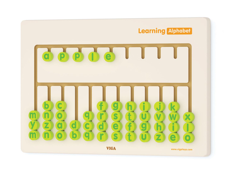 """Образователни играчки за стена """" Да научим азбуката"""" -Bellamie"""