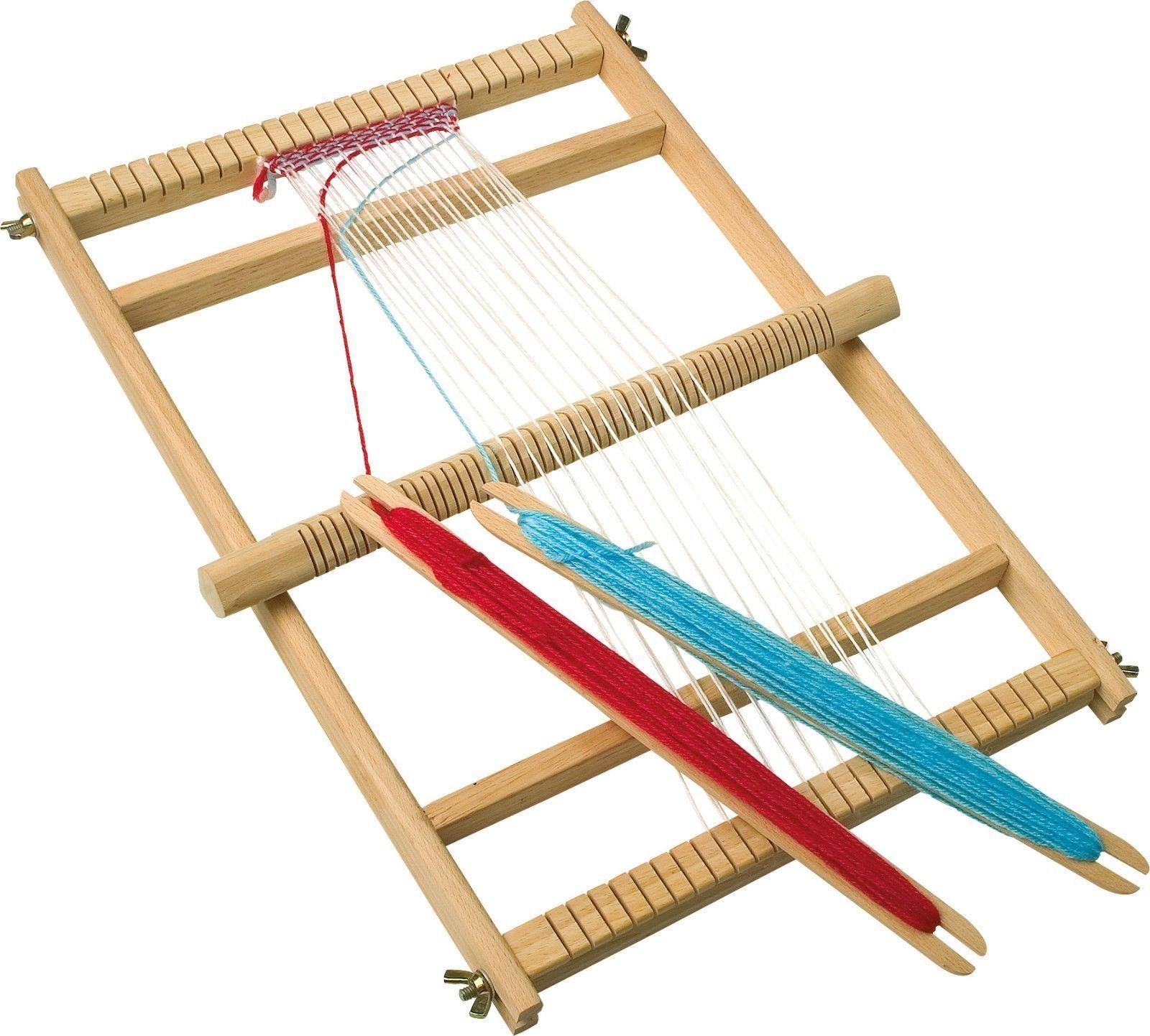Детски дървен тъкачен стан-образователни играчки(1)