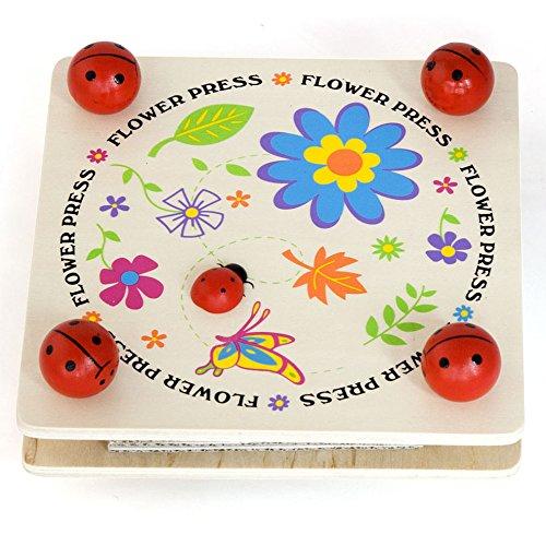 Дървена преса за цветя-образователни играчки(1)-Bellamie