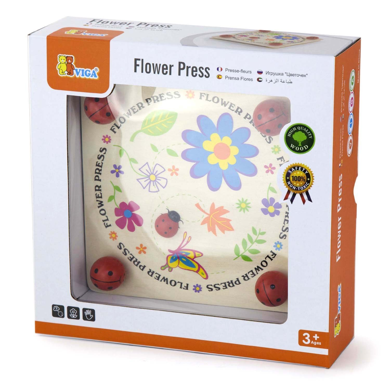 Дървена преса за цветя-образователни играчки(2)-Bellamie