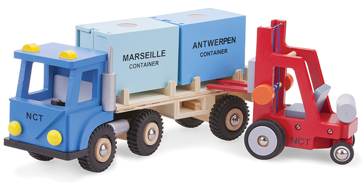 Дървен детски мотокар-детски дървени играчки за момчета(1)-bellamie