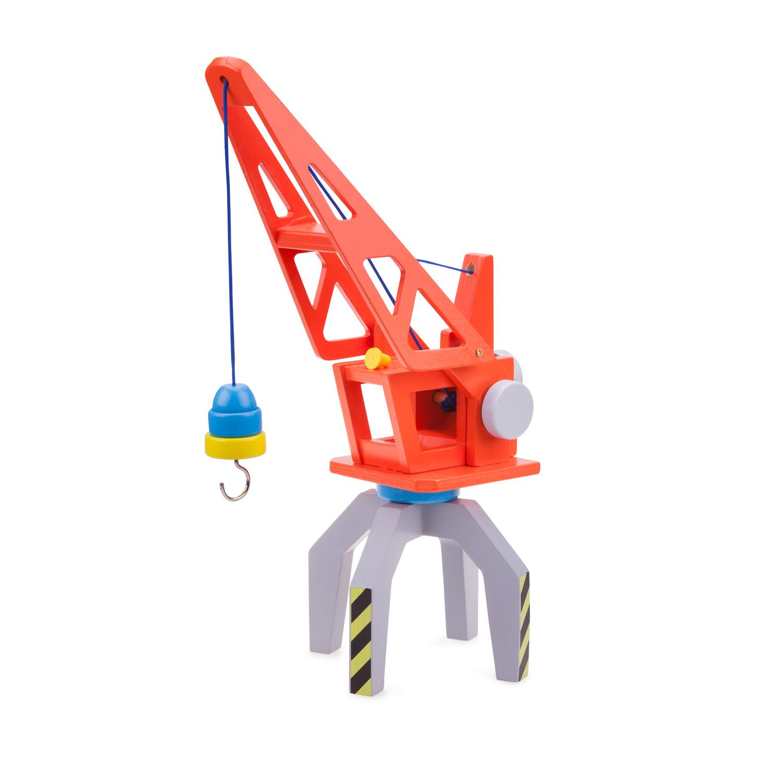 детски играчки за момчета-детски дървен кран - New Classic Toys-bellamie