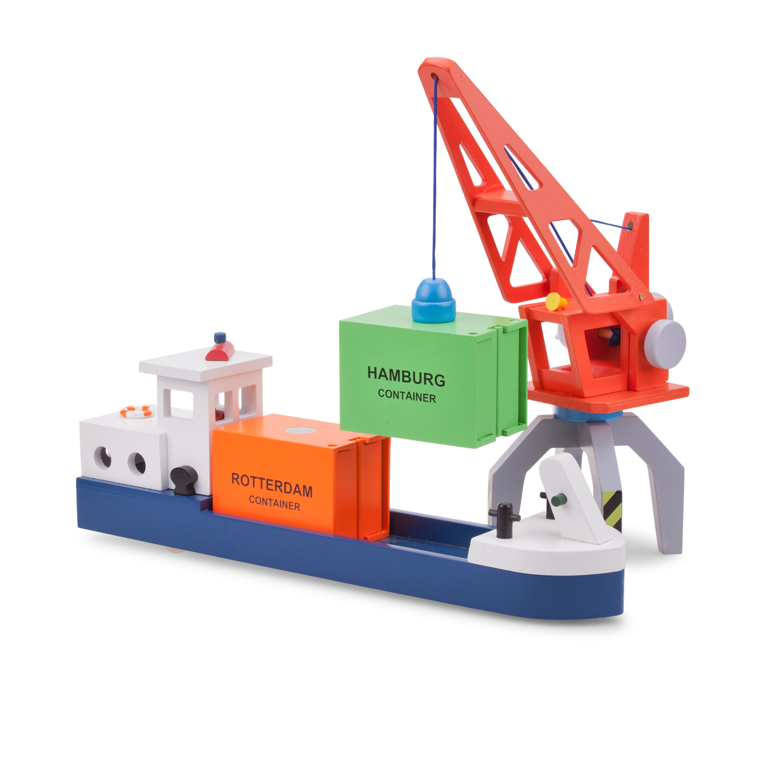 детски играчки за момчета-детски дървен кран - New Classic Toys(1)-bellamie