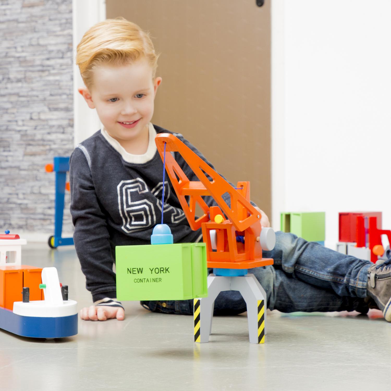 детски играчки за момчета-детски дървен кран - New Classic Toys(2)-bellamie