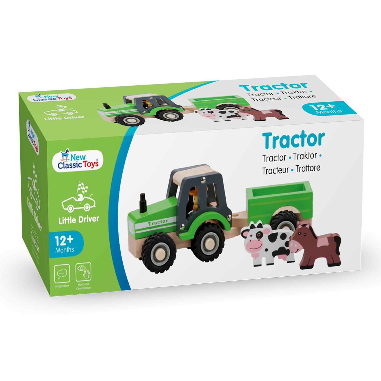 Детски играчки за момчета- Трактор с ремарке и животните от фермата(4)-bellamie