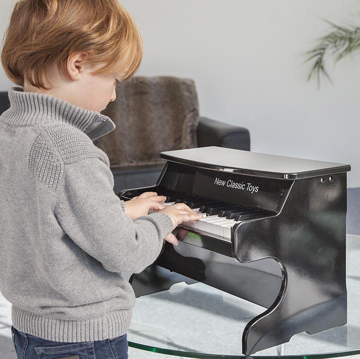 Детско дървено пиано 25 клавиша- Детски музикален инструмент(1)-bellamie