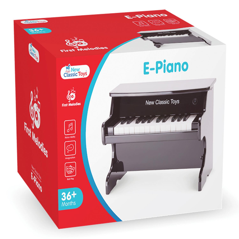 Детско дървено пиано 25 клавиша- Детски музикален инструмент(2)-bellamie