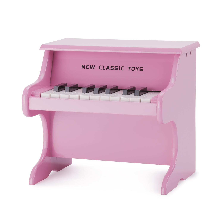 Детско дървено пиано- Детски музикален инструмент-Белами
