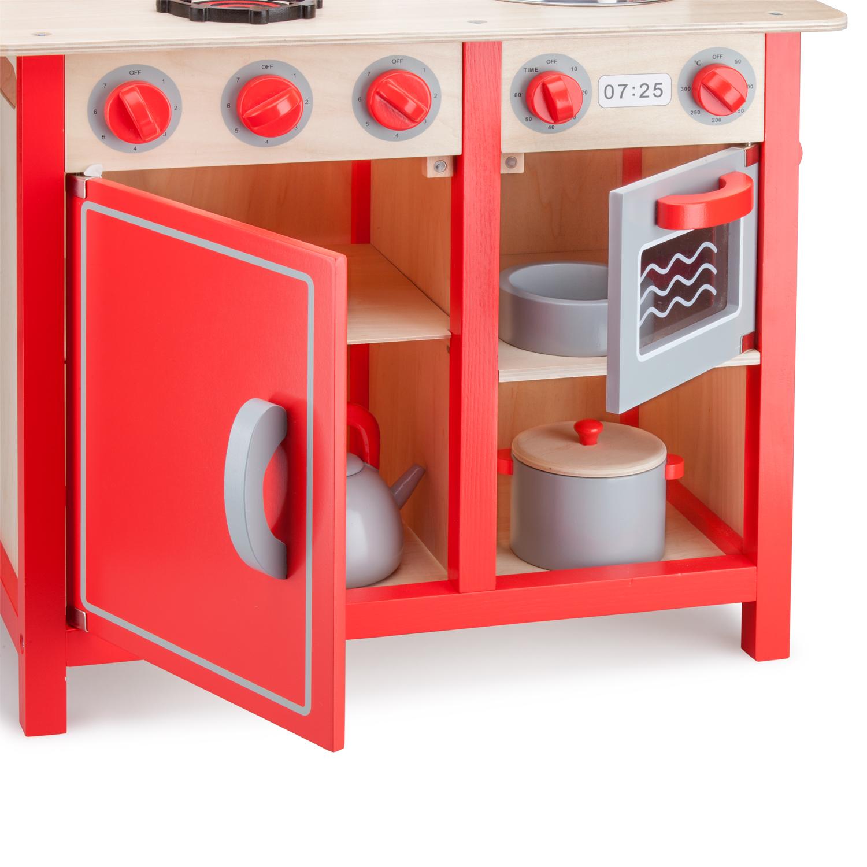 детска дървена кухня в червено-лукс-дървена играчка(2)-bellamie
