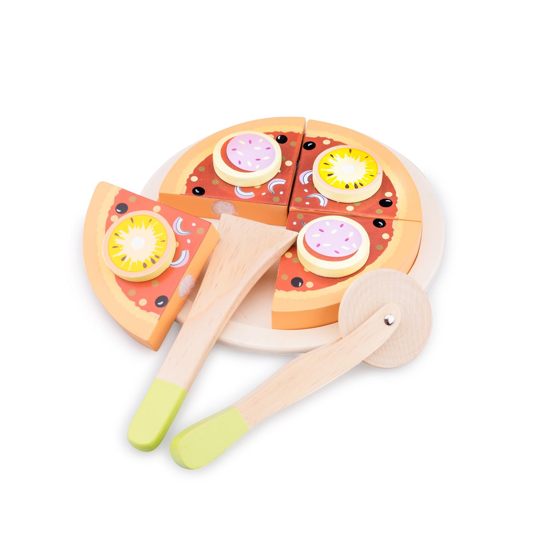 дървена пица за рязане-аксесоар за детска дървена кухня-дървена играчка(1)-bellamie