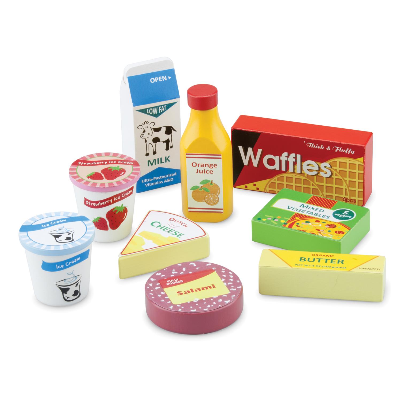 дървени хранителни продукти- аксесоари за детска дървена кухня-дървена играчка-bellamie