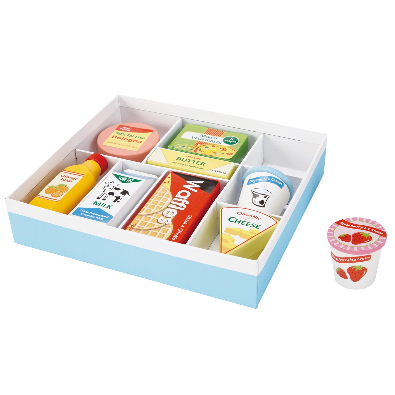 дървени хранителни продукти- аксесоари за детска дървена кухня-дървена играчка(1)-bellamie