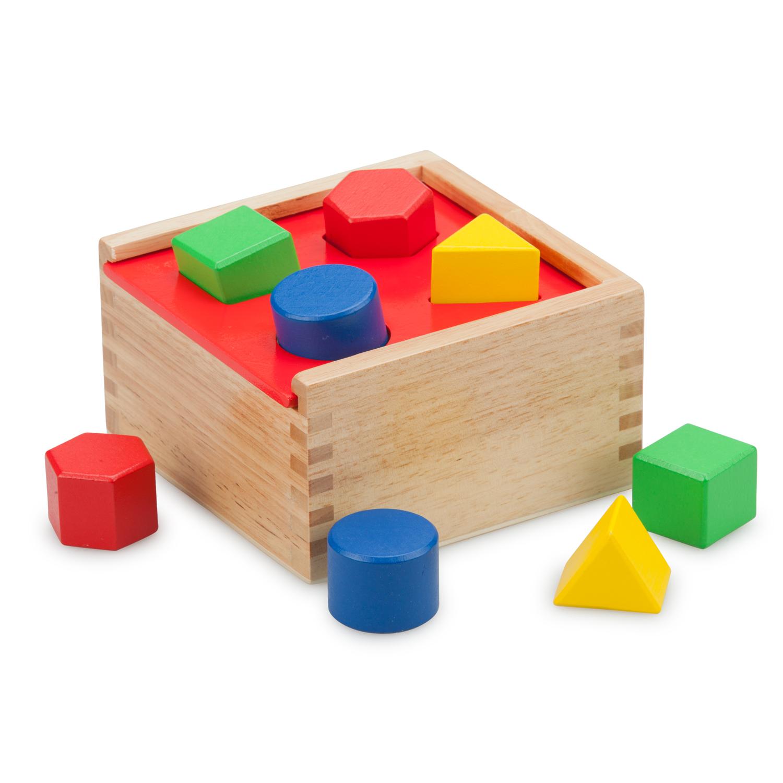 дървено кубче за сортиране на форми-дървени кубчета и сортери-bellamie