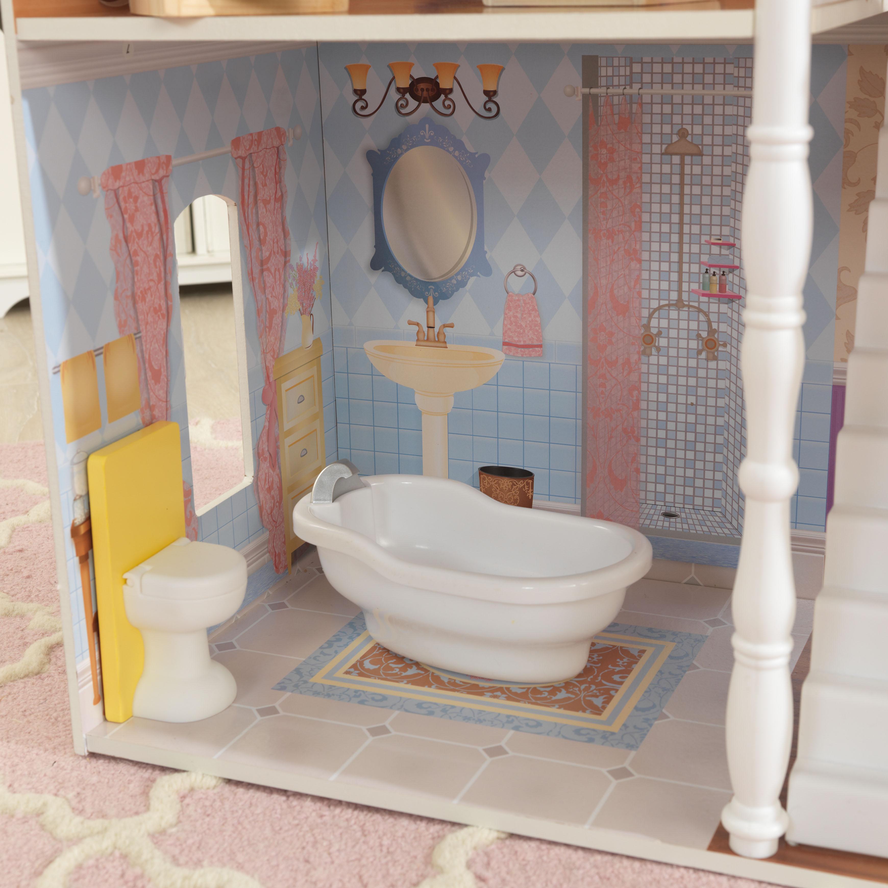 Детска дървена къща за кукли Савана от Kidkraft(8)-bellamie