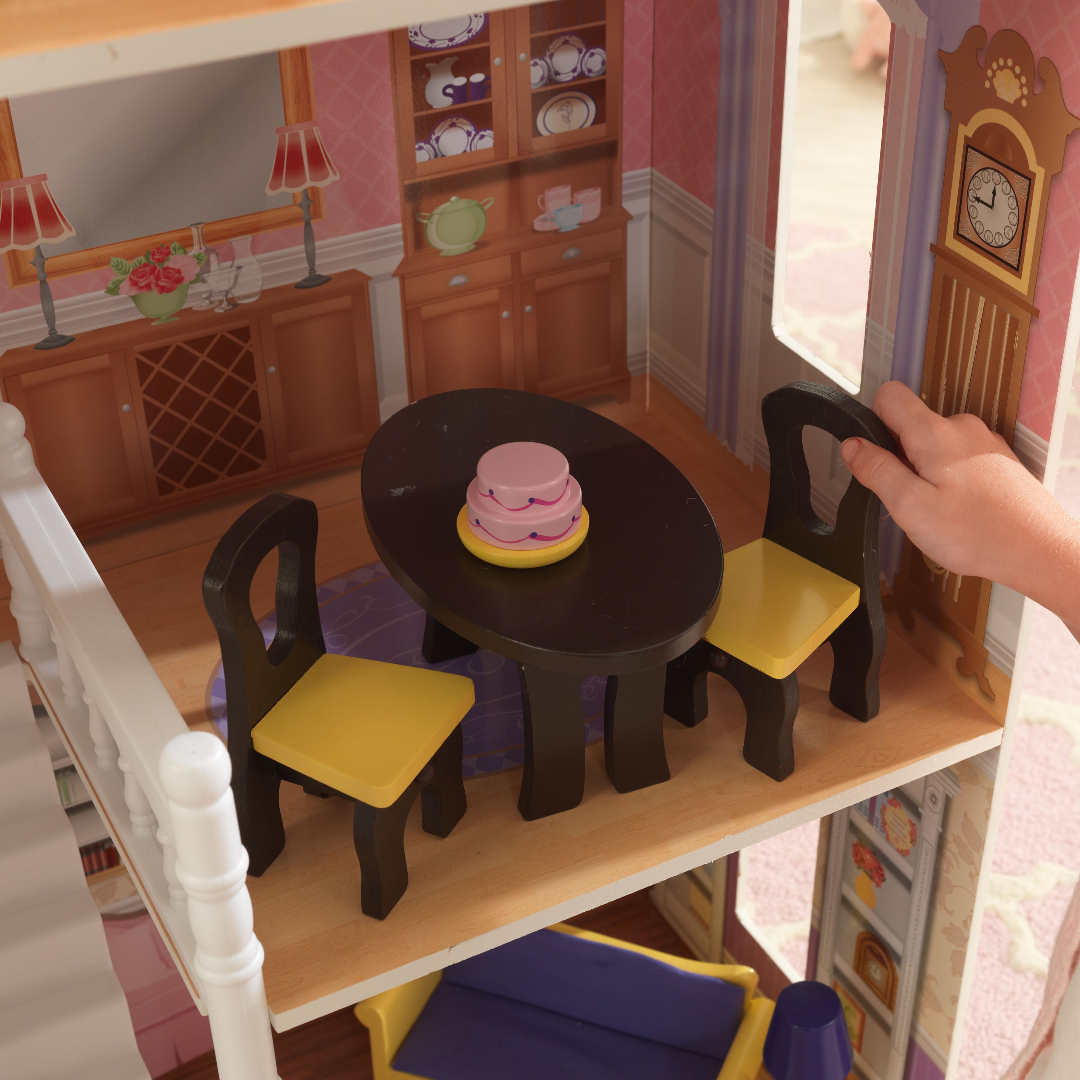 Детска дървена къща за кукли Савана от Kidkraft(7)-bellamie