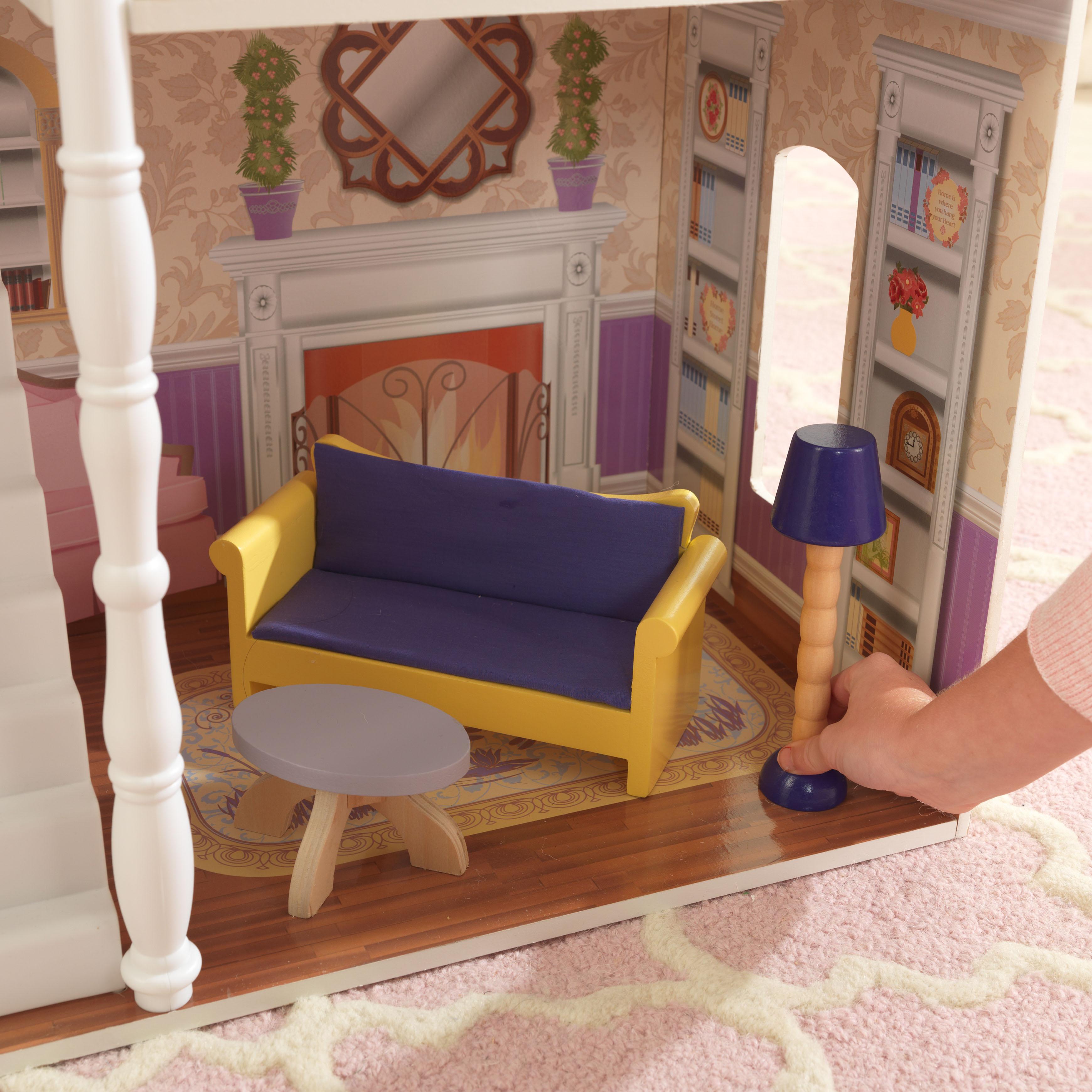 Детска дървена къща за кукли Савана от Kidkraft(3)-bellamie