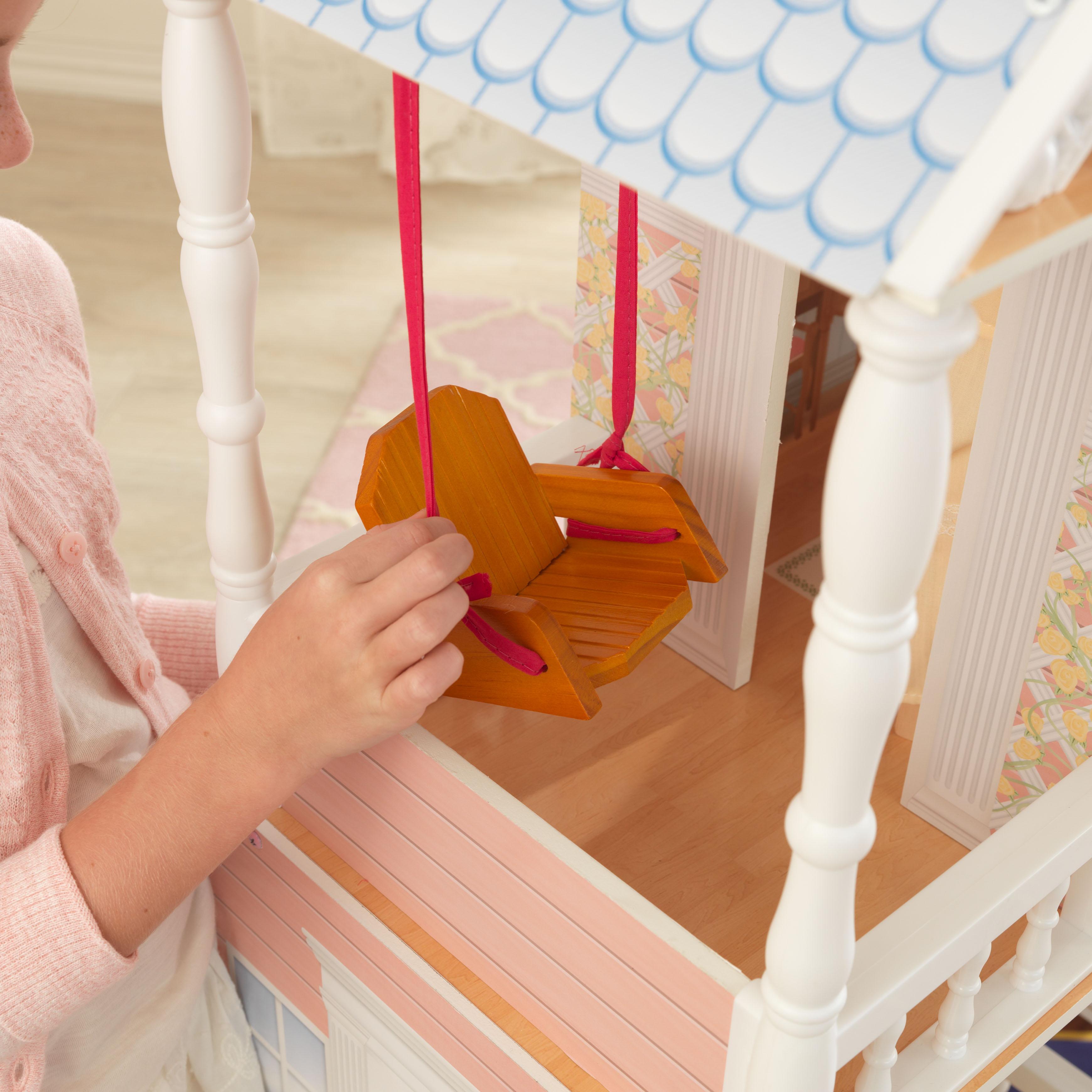 Детска дървена къща за кукли Савана от Kidkraft(10)-bellamie