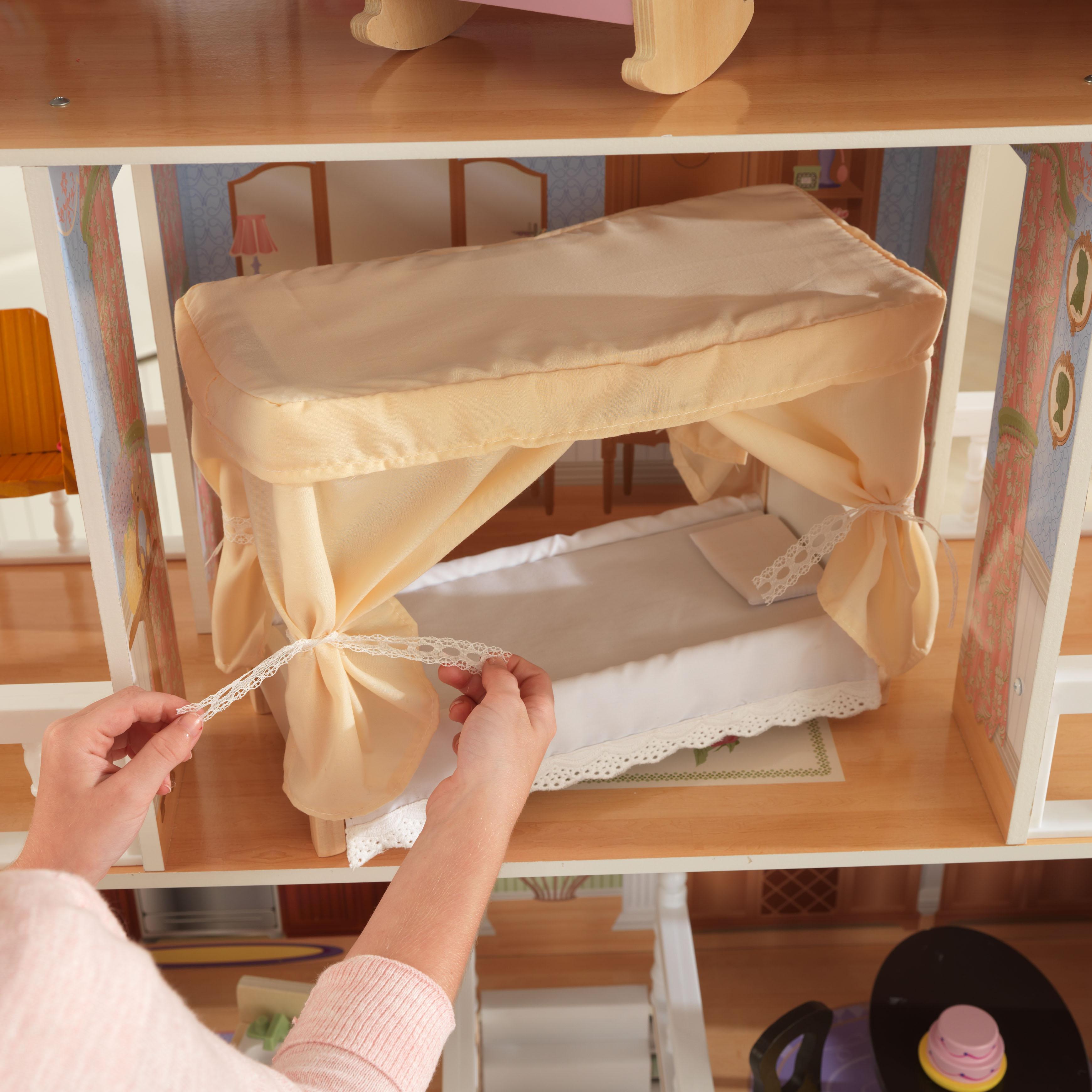 Детска дървена къща за кукли Савана от Kidkraft(9)-bellamie