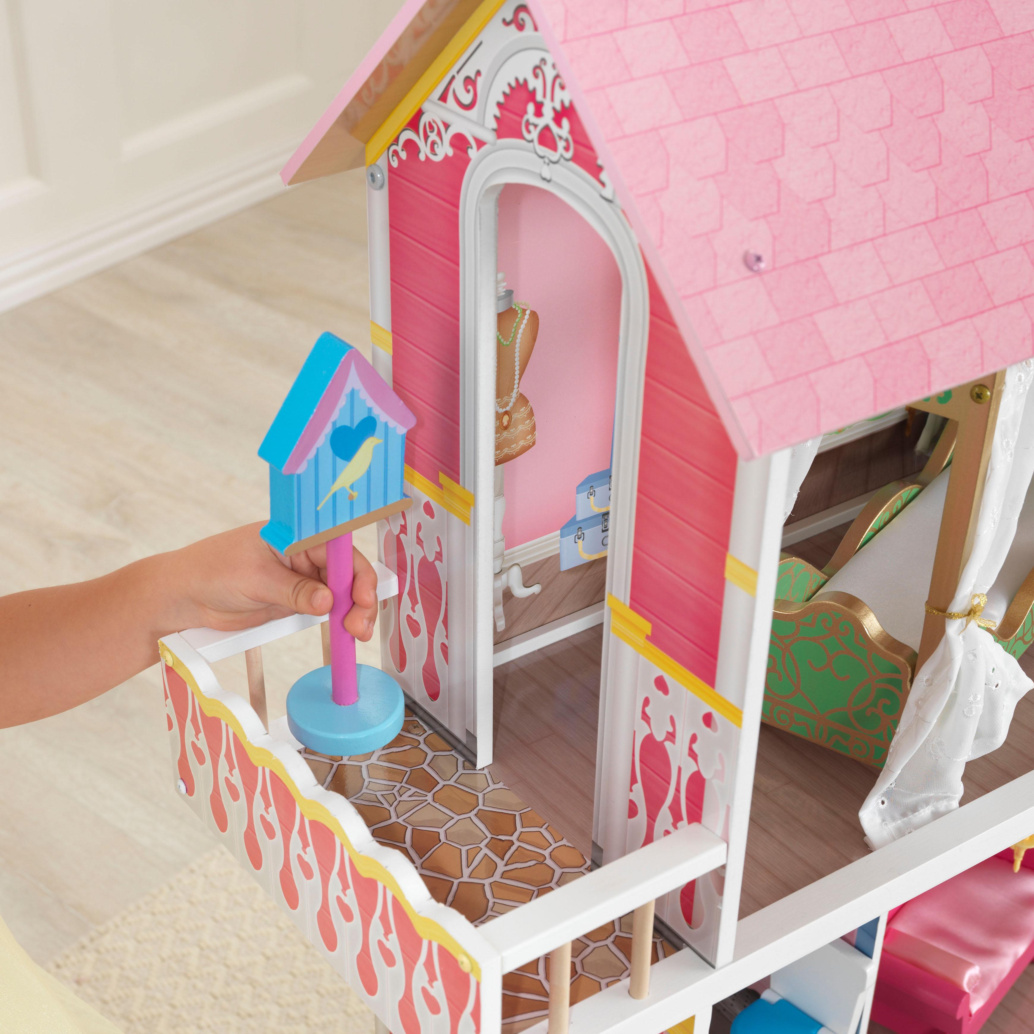 Дървена къща за кукли - Сладката Савана от KidKraft(6)-bellamie