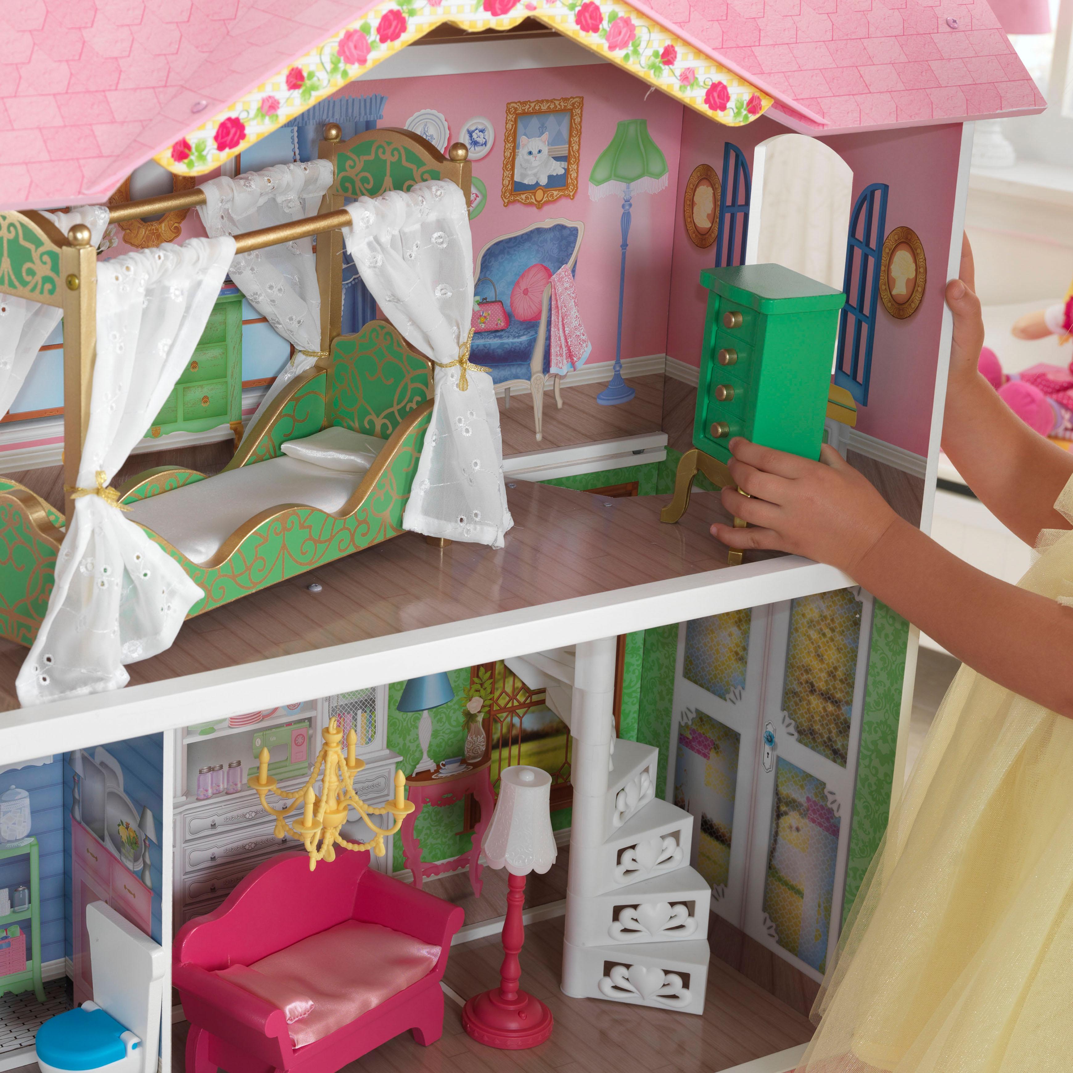 Дървена къща за кукли - Сладката Савана от KidKraft-bellamie