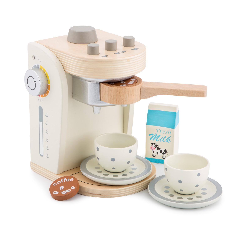 Детска кафе машина - дървена играчка от New Classic Toys-bellamie